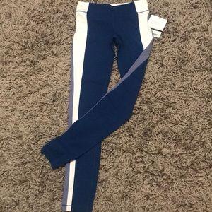 NWT Athleta Girl Colorblock Tight Leggings L/12